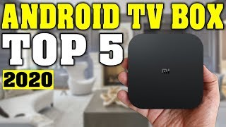 TOP 5: Best Android TV Box 2020