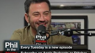 The Interesting And Funny Jimmy Kimmel On The Next 'Phil In The Blanks' Podcast