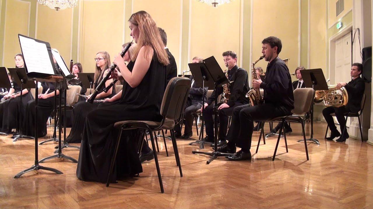 00619 JVLMA Pūtēju orķestra koncerts, 25.10 2015 JVLMA Lielā zālē