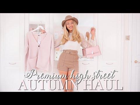 PREMIUM HIGH STREET AUTUMN HAUL~ TED BAKER, REISS, ME & EM  ~ Autumn Fashion Edit ~ Freddy My Love