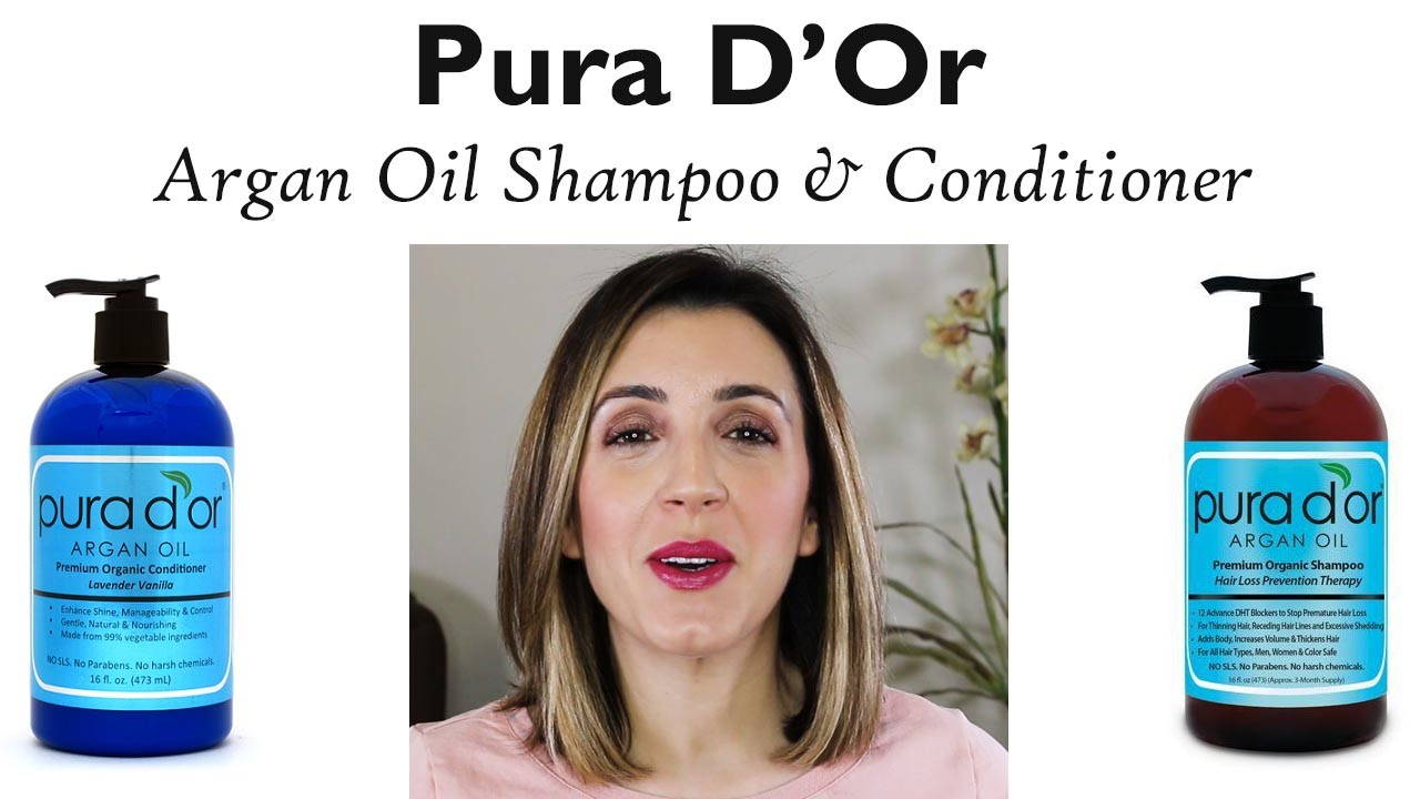 Pura D Or Argan Hair Loss Prevention Therapy Review Youtube