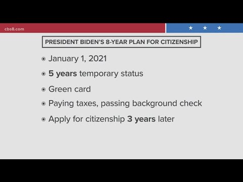 Biden introduces bill to create pathway to citizenship for undocumented immigrants