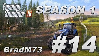 Farming Simulator 15 - Season 1 - Episode 14 - Headers and Mowers!!