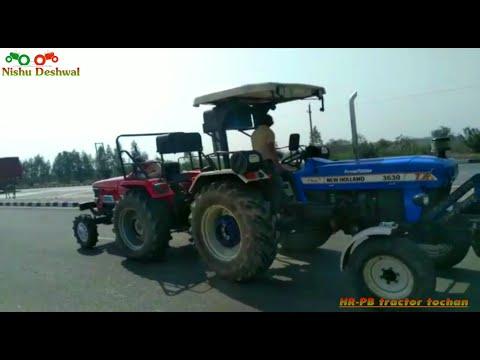 New holland vs sonalika vs Arjun tractor tochan in Haryana