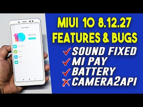 MIUI 10 8.12.27 Update Features And Bugs | Redmi Note 5 Pro