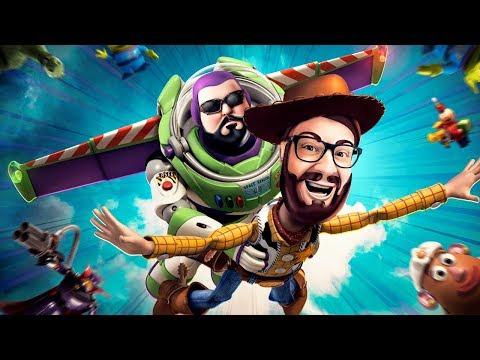 A história por trás de Toy Story