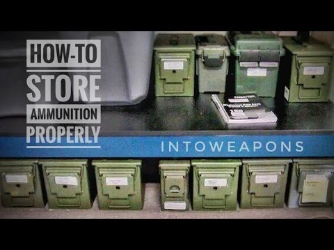 Ammo Inventory & Storage: How-To Method from YouTube · Duration:  6 minutes 27 seconds