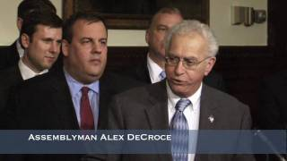 Governor Christie: Pension Reform Bill Signing