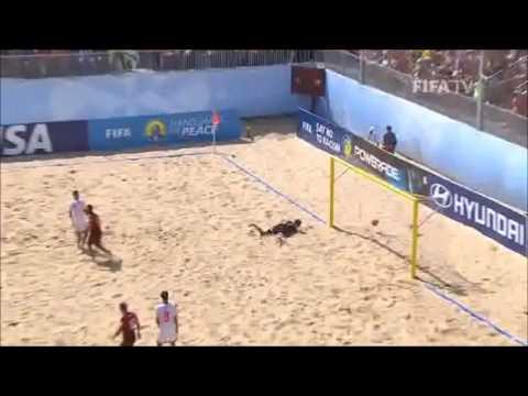 3aa48a94de Melhor Golo do Mundial de Futebol de Praia - Madjer (Portugal x Suiça)