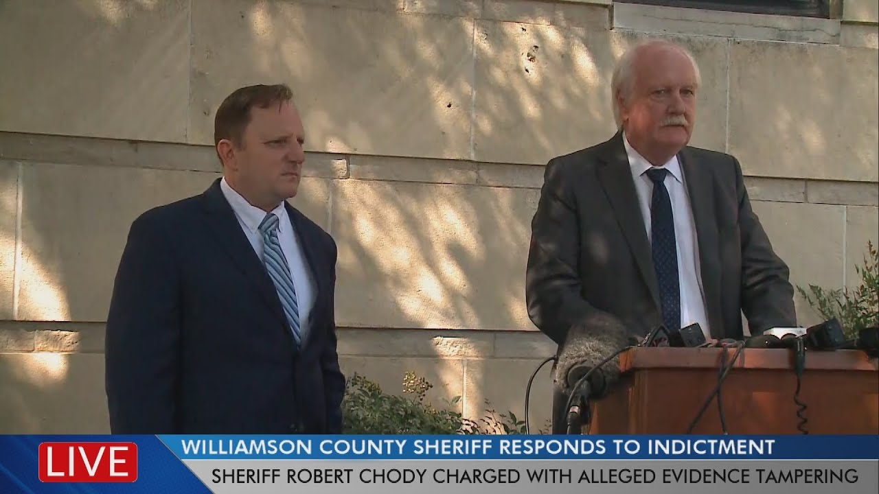 News conferences held after Williamson County sheriff's indictment