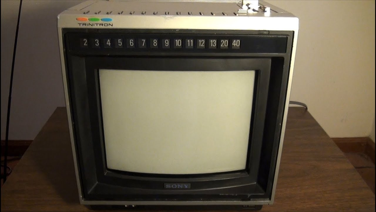 1980 Sony Trinitron Kv-9400 9 U0026quot  Color Tv