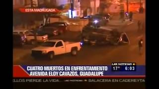 Repeat youtube video Graban Balacera en Vivo ZETAS vs Militares En Monterrey, Nuevo Leon