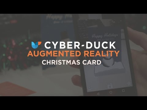 [Cyber-Duck] Augmented Reality Christmas Card