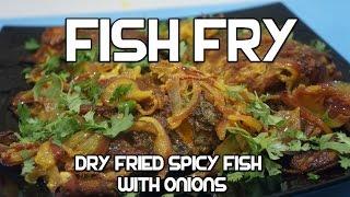 Indian Fish Fry Recipe - Tilapia