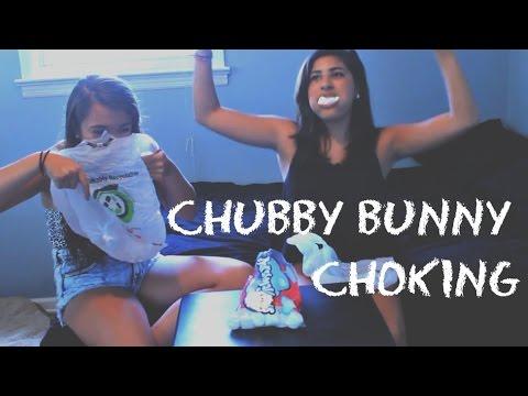 Chubby bunnies choking