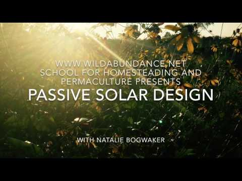 How to use Passive Solar Heating