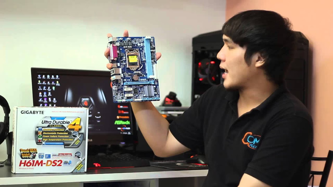 Preview : GIGABYTE H61M-DS2