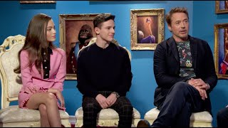 Baixar Robert Downey Jr. and 'Dolittle' costars on talking to animals, saying goodbye to Iron Man and more