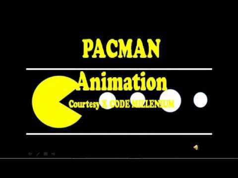 Pac man power point animation youtube pac man power point animation toneelgroepblik Images