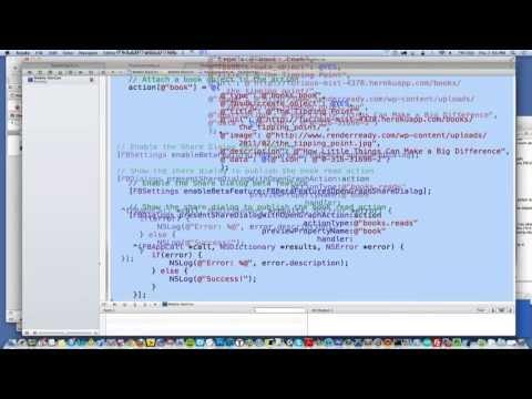 Building Open Graph into your native mobile apps - Facebook Mobile DevCon New York 2013