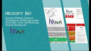 Best Web Design, Software development, Android IOS Mobile App Company in Bangladesh || HRSOFTBD