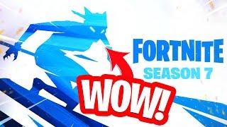 HET SNEEUW NU IN FORTNITE!! SEASON 7 BATTLE PASS GIVEAWAY! NIEUWE TEASER!