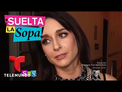 Susana González reacciona  a criticas de Niurka a su personaje  Suelta La Sopa  Entretenimiento
