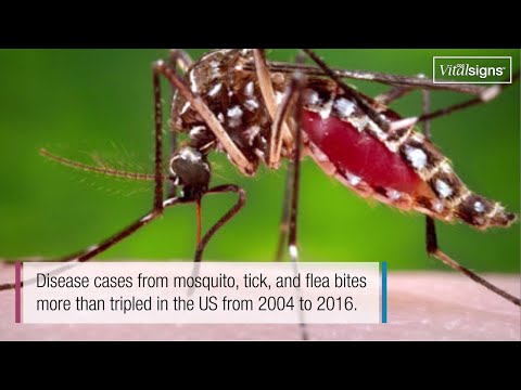Illnesses On The Rise From Mosquito, Tick, And Flea Bites, May 2018, Vital Signs