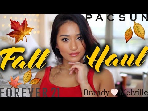 FALL HAUL 2017 TRY ON CLOTHING HAUL