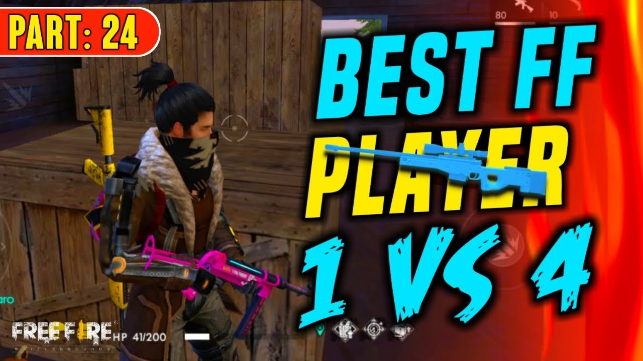 Best Free Fire Player Solo vs Squad 12 Kills - Garena Free Fire- Total  Gaming