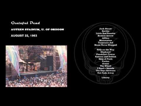 1993-08-22 - Grateful Dead Live at Autzen Stadium, U. of Oregon
