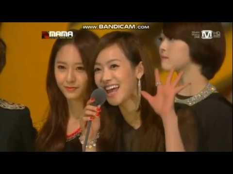 Fx win Best Dance Performance Female Group MAMA 2012