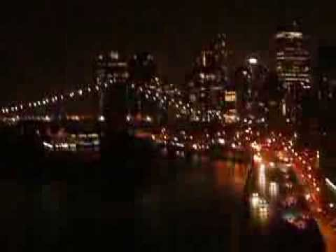 City Sightseeing (NYC) , night tour, Manhattan bridge