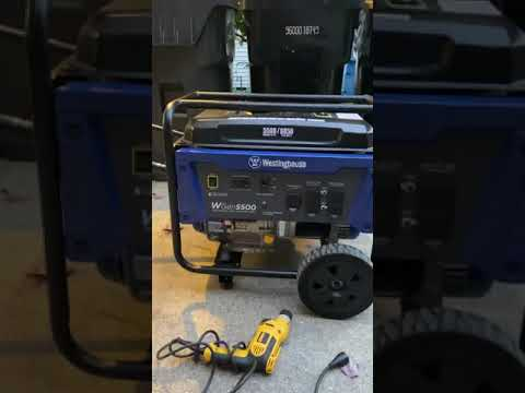 Westinghouse 5500 Generator Review