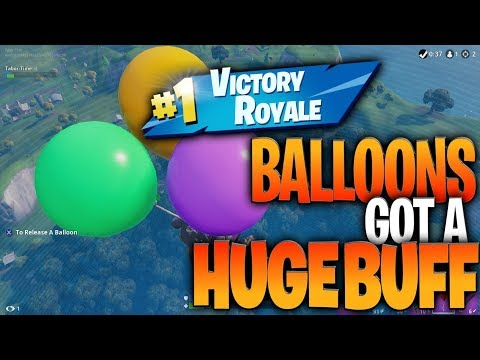 """Balloons Got A HUGE Buff! """"How To Use The Balloons In Fortnite"""" Battle Royale (NEW FORTNITE META)"""