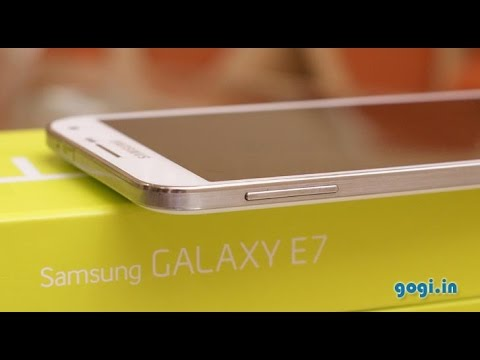 Samsung Galaxy E7 review, benchmark and Gaming