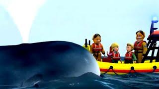 Feuerwehrmann Sam Deutsch Neue Folgen Einem Wal helfen Zeichentrick für Kinder