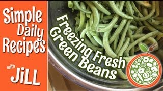 Tips To Freezing Fresh Green Beans