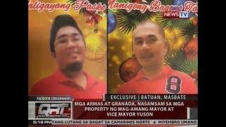 QRT: Mga armas at granada, nasamsam sa mga property ng mag-amang Mayor at Vice Mayor Uson