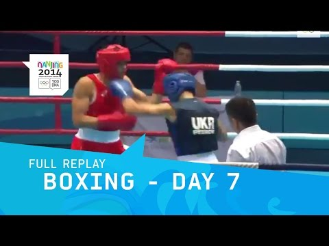Boxing - Preliminaries Men Day 7 | Full Replay | Nanjing 2014 Youth Olympic Games