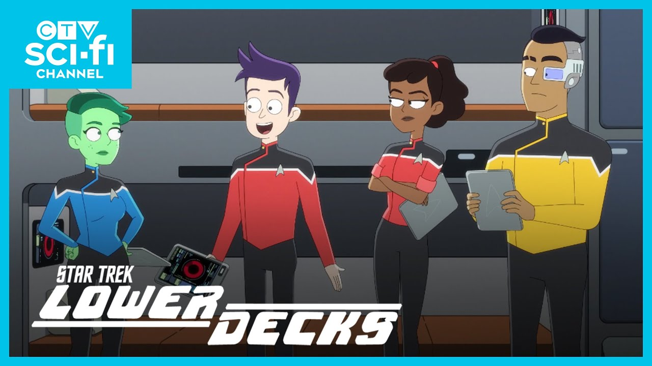 This Season On Star Trek: Lower Decks