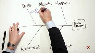 كيفية إنشاء السبب والنتيجة المخططات