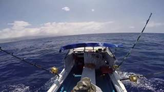 Catching Skipjack Tuna and Preparing Spicy Tuna #49
