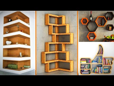 Top 70+ Creative Wall Shelves Design Ideas 2020 || (Furniture Rayat)