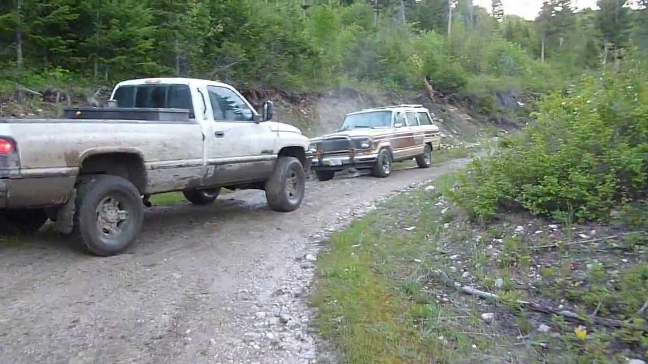 playing in the mud in a 1995 dodge ram 2500 cummins youtube. Black Bedroom Furniture Sets. Home Design Ideas
