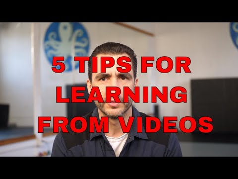 Tutorial: 5 steps to learning Yoga, Fitness, Martial arts from videos. thumbnail