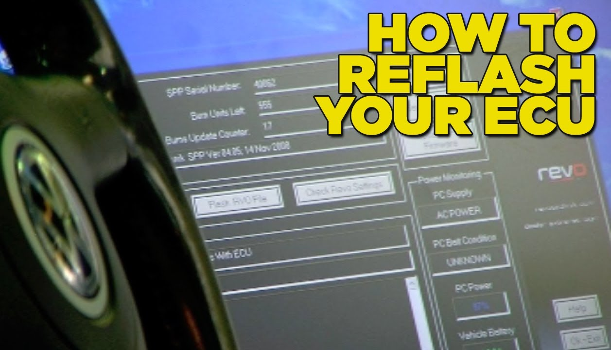 How To Reflash Your ECU  YouTube