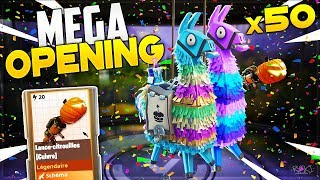 Fortnite: Opening of x50 Birthday Lamas with My Brother (Opening Pack Saving the World)