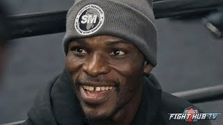 """RICHARD COMMEY """"I KNOW GHANA IS BEHIND ME; ALL THOSE KIDS ARE BEHIND ME"""""""