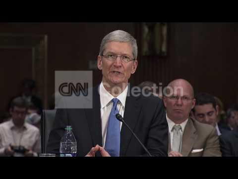"APPLE CEO ON TAX RATES OFFSHORE ""SHIFTING"""